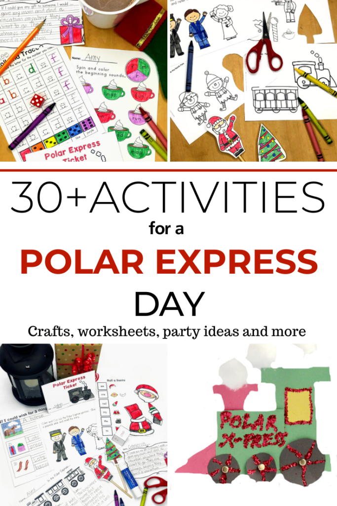Polar Express Activities for Kindergarten