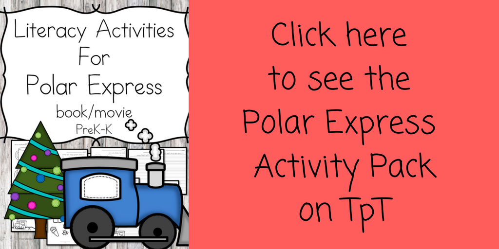 Enhance learning after reading the Polar Express with this Free Polar Express Writing Prompt for Kindergarten!