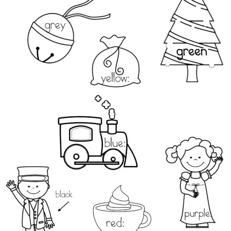 Polar express activities for kindergarten