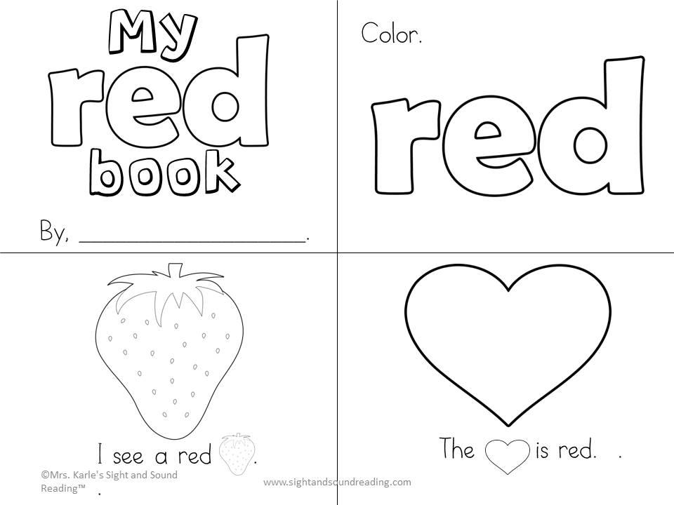 Color Activities For Preschoolers