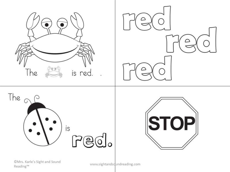 Preschool Color Book -Help your students learn colors with this fun color book.