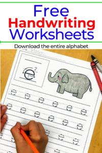 Preschool Handwriting Practice