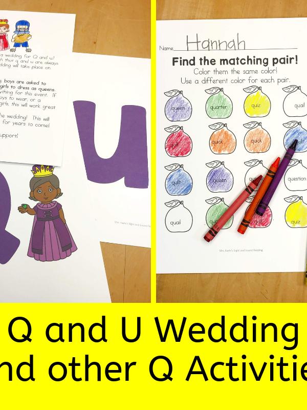 Q and U Wedding activities