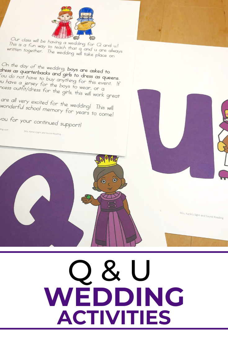 Q and U Wedding Activities