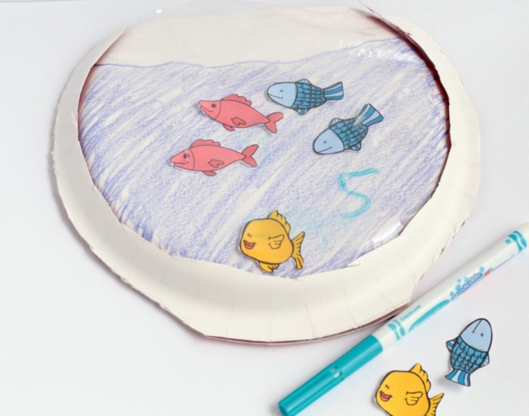 Craft for One Fish, Two Fish, Red Fish, Blue Fish