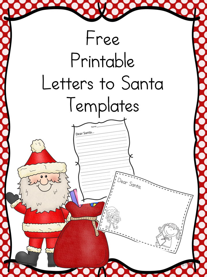 Santa and elf worksheets for kids letter to santa template from mrs karles sight and sound reading us spiritdancerdesigns Gallery
