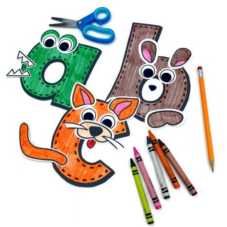 lower-case-alphabet-animals