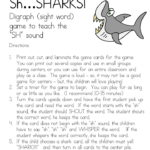Sh Sound Digraph Game -Help teach the Sh sound with this fun sh sound digraph game!