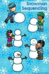 Snowmen coloring Pages