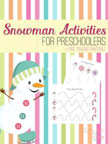 Happy Snowmen Coloring