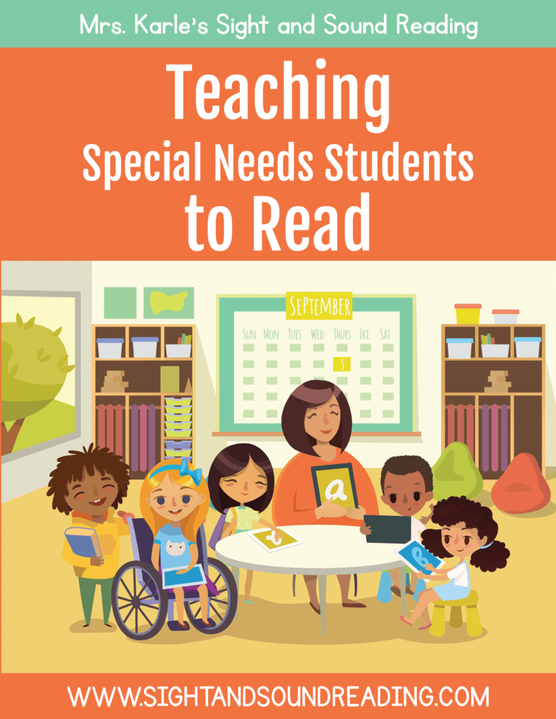 Teaching Special Needs Students to read