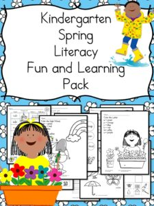 Spring Literacy Learning Pack