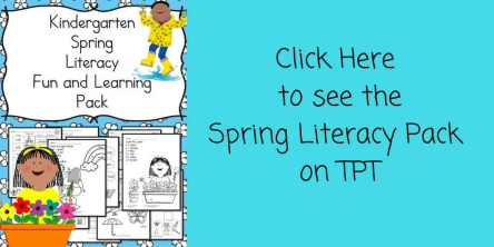 Spring Literacy Pack on TPT