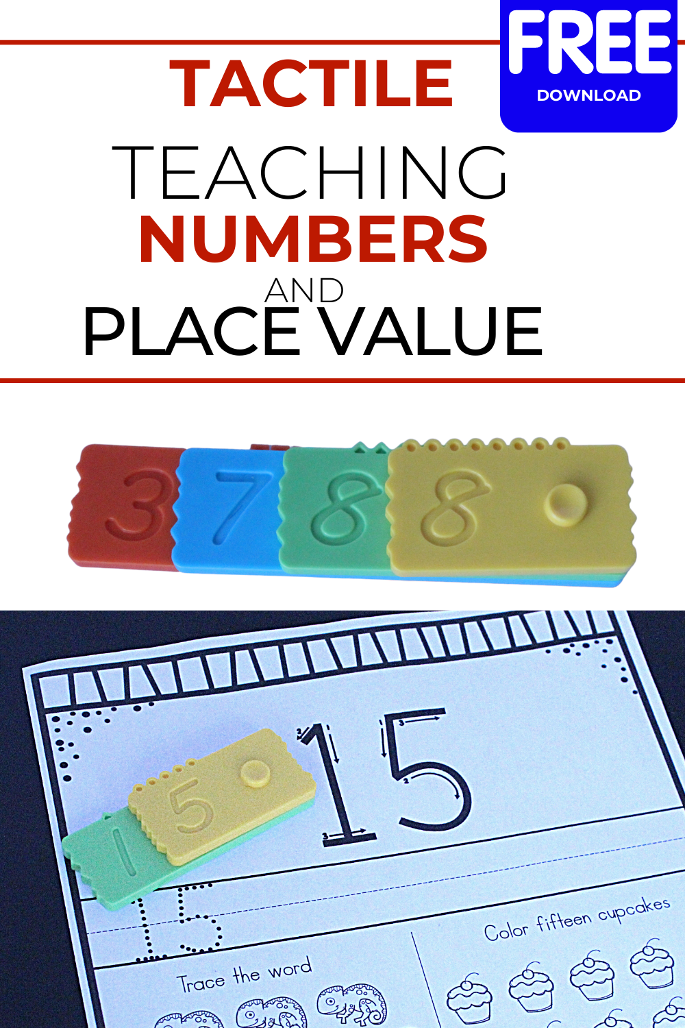 Teaching Numbers and Place Value: Numero Bricks