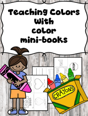 Teaching Colors -Mini-books