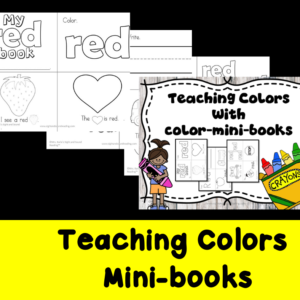 Teaching Colors Minibooks