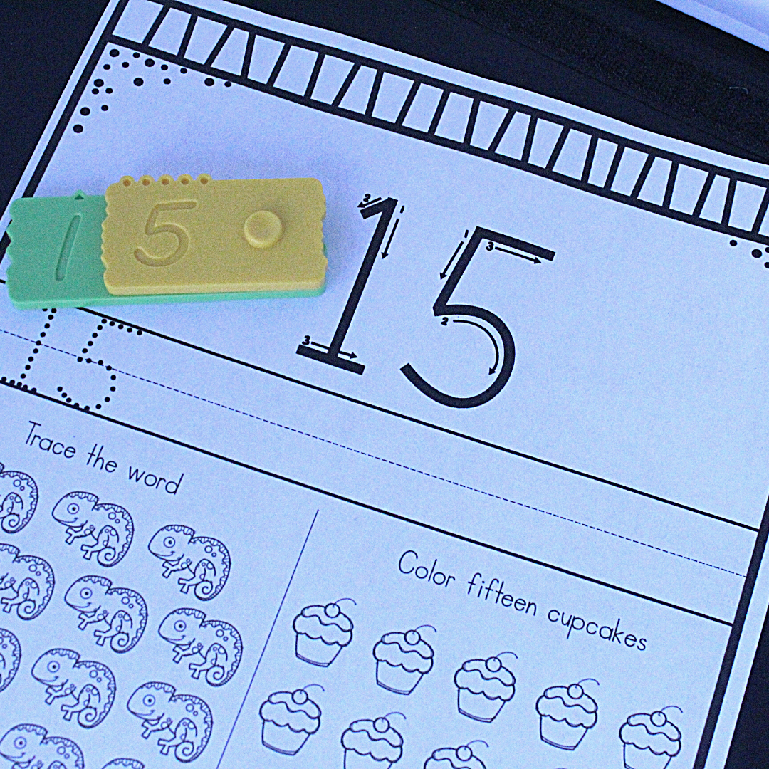 Teaching number and place value with newmero bricks