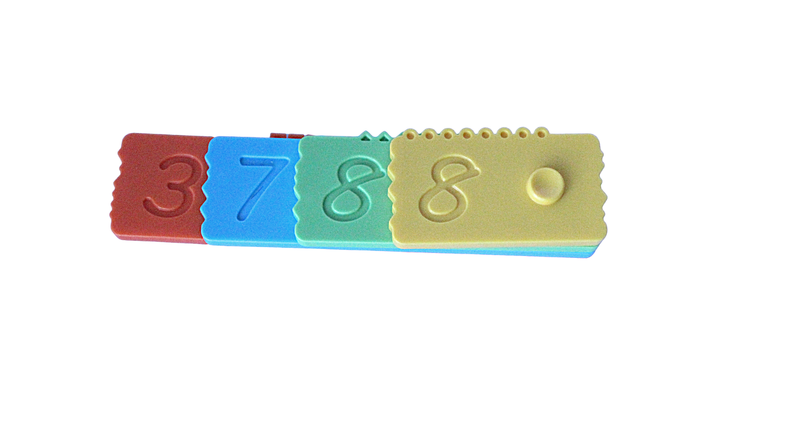Numero Brick: Teaching number and place value using an innovative math manipulative