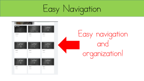 Teaching Reading Made Easy -Easy Navigation