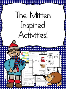 The Mitten Inspired Activities - am