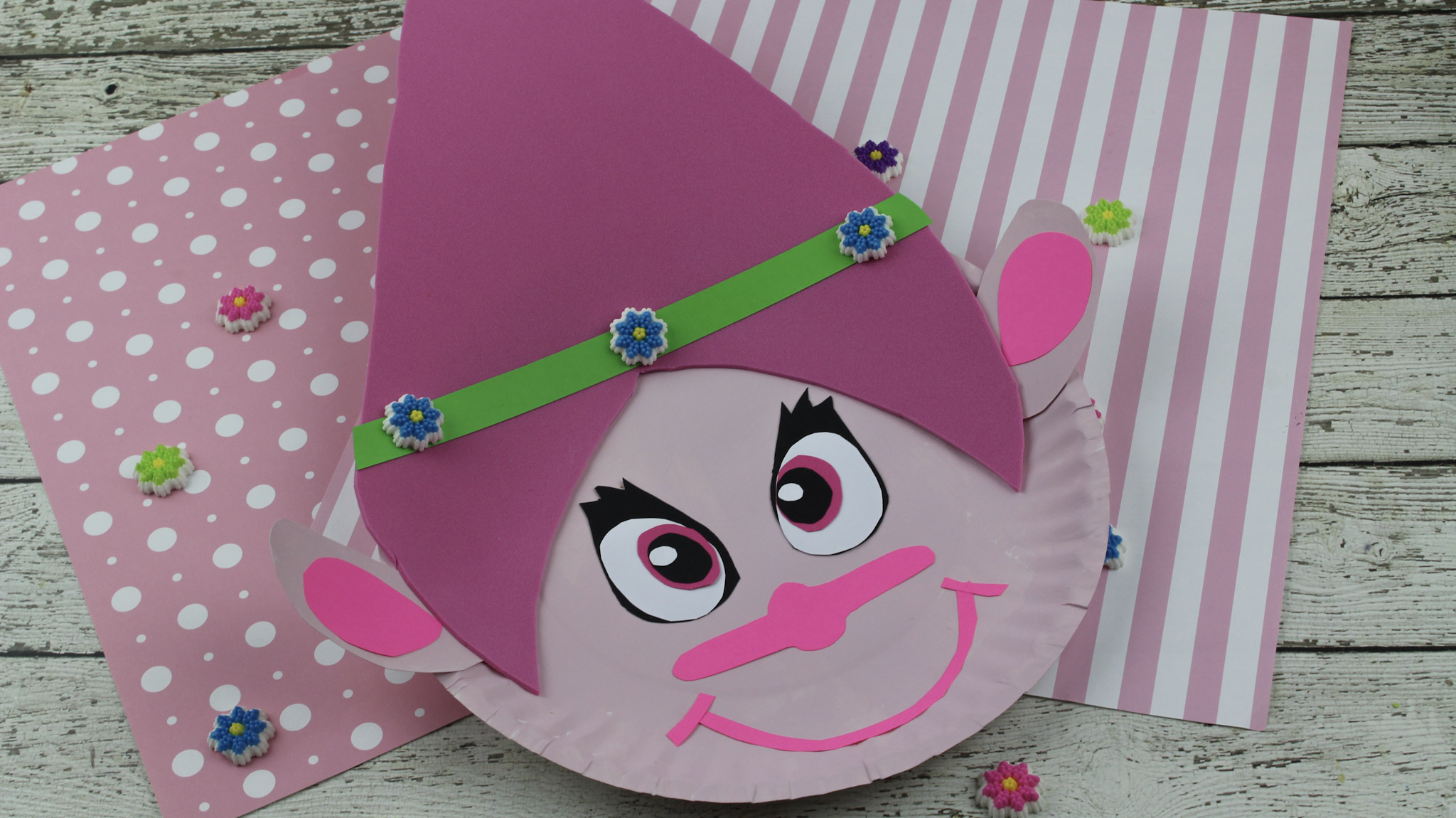 troll craft  cute  easy and fun