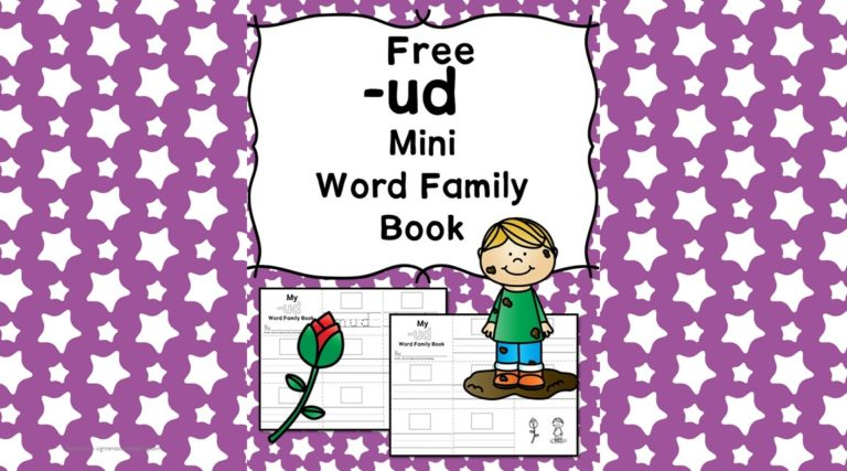 UD CVC Word Family Worksheets