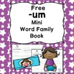 Teach the um word family using these UM cvc word family worksheets. Students make a mini-book with different words that end in 'um'. Cut/Paste/Tracing Fun