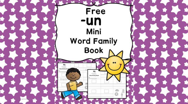 UN CVC Word Family Worksheets