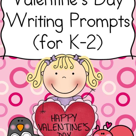 Valentine Day Writing Prompts for Kindergarten