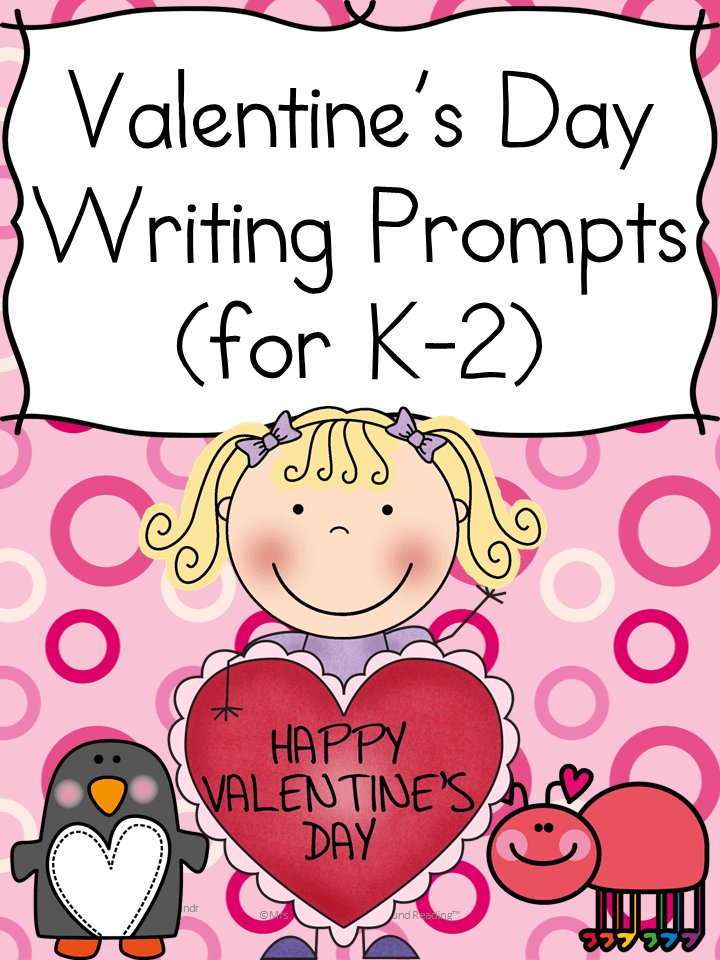 Valentine Day Writing Prompts for Kindergarten