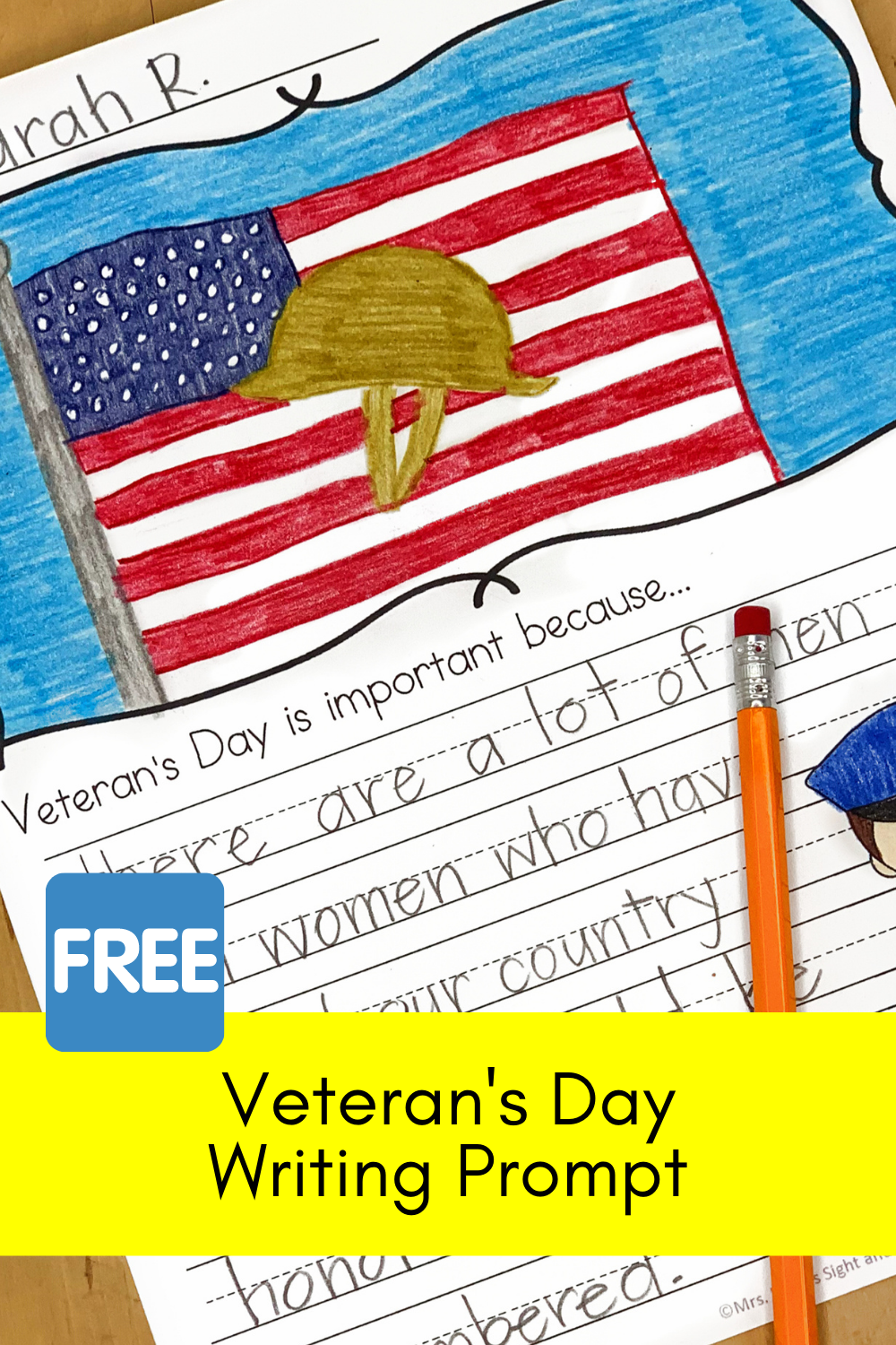 Veteran's Day Writing Prompts