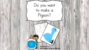 Are you looking for a Pigeon Craft to go along with your Pigeon Books? Why not make a pigeon? This is a cute cut/paste activity.