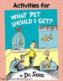 What Pet Should I Get Activities for Kindergarten or First Grade Classrooms