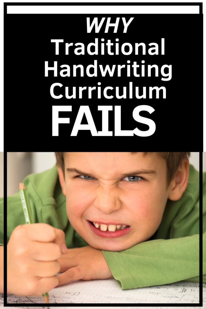 Why Traditional handwriting Curriculum Fails