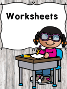 Worksheets for Kids -for preschool or kindergarten