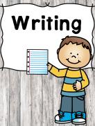 Writing Prompts and Handwriting Activities for Preschool or Kindergarten